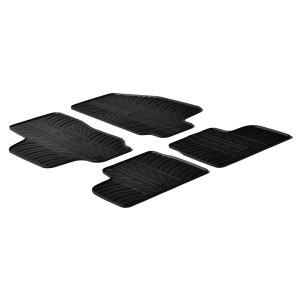 Rubber mats for Opel Astra G