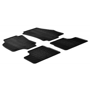 Rubber mats for Opel Astra H
