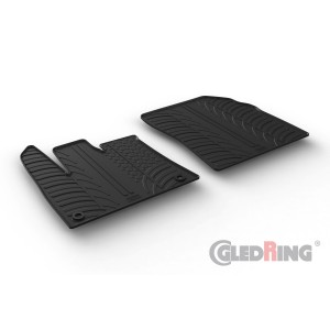 Rubber mats for Opel Combo Cargo (oval fixing)