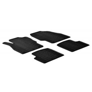 Rubber mats for Opel Corsa D