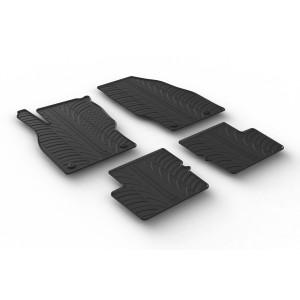 Rubber mats for Opel Corsa E