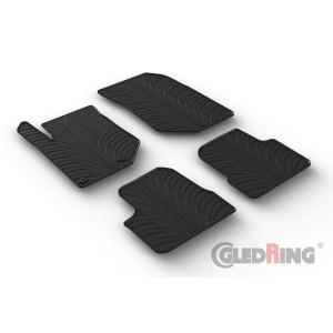 Rubber mats for Peugeot 2008 (5 door/no hybrid)