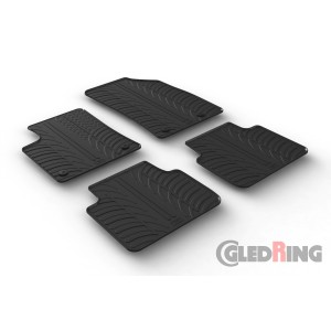 Rubber mats for Opel Crossland X