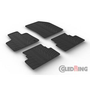 Rubber mats for Opel Grandland X