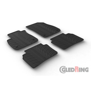 Rubber mats for Opel Insignia