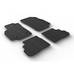 Rubber mats for Opel Karl