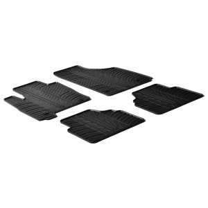Rubber mats for Opel Meriva