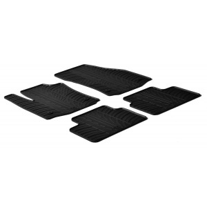 Rubber mats for Opel Meriva B (5 doors)
