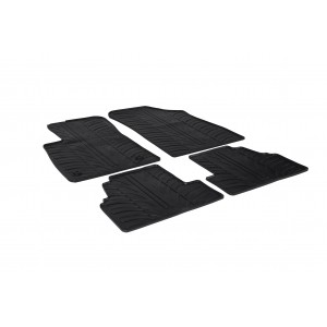 Rubber mats for Chevrolet TRAX