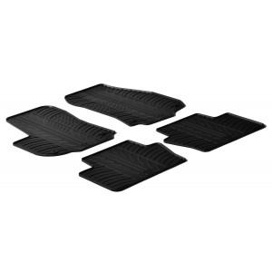 Rubber mats for Opel Zafira B