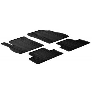 Rubber mats for Opel Zafira C