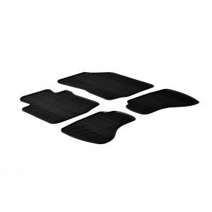 Rubber mats for Peugeot 107