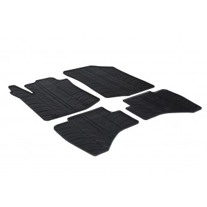Rubber mats for Peugeot 108