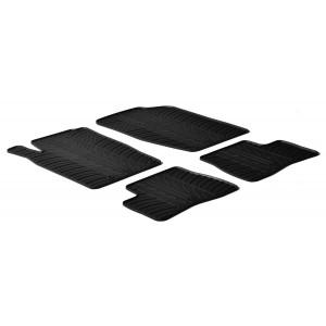 Rubber mats for Peugeot 206