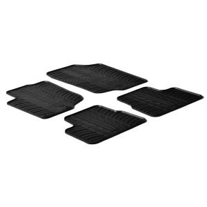 Rubber mats for Peugeot 207