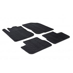 Rubber mats for Peugeot 208