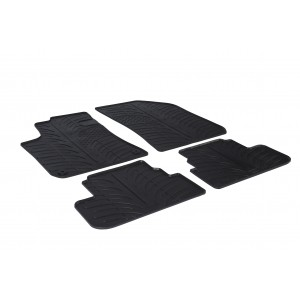 Rubber mats for Peugeot 308 (5 doors)