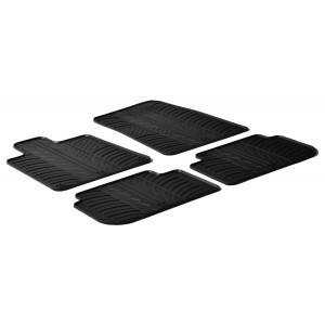 Rubber mats for Peugeot 407