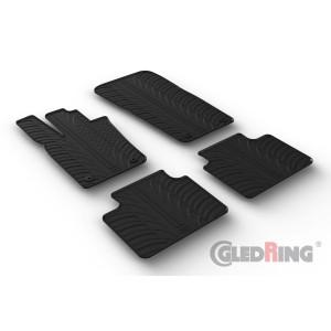 Rubber mats for Porsche Panamera GTS Liftback