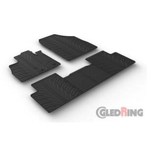 Rubber mats for Renault Scenic/Grand Scenic