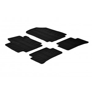 Rubber mats for Renault Clio IV (5 doors)