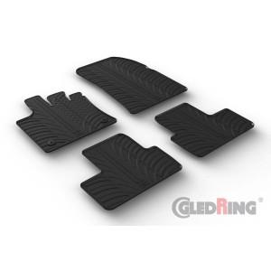 Rubber mats for Renault Captur (automatic & manual)