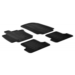 Rubber mats for Renault Clio III