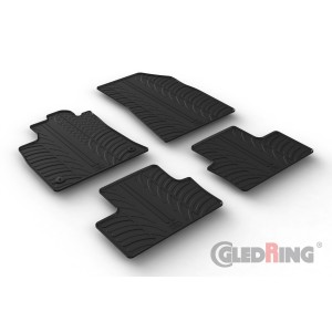 Rubber mats for Renault Clio V HB