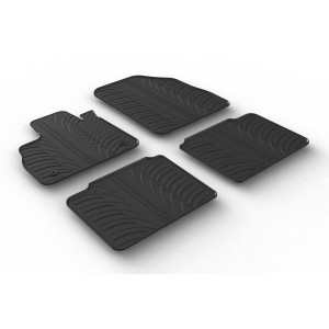 Rubber mats for Renault Espace