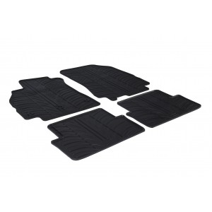 Rubber mats for Renault Fluence