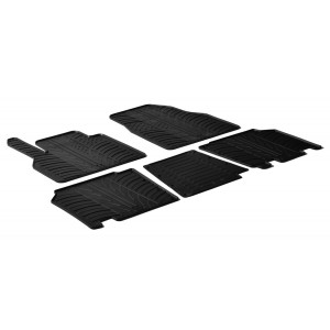 Rubber mats for Renault Kangoo