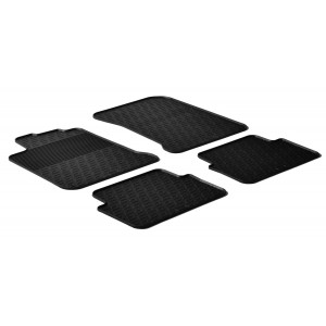 Rubber mats for Renault Laguna III