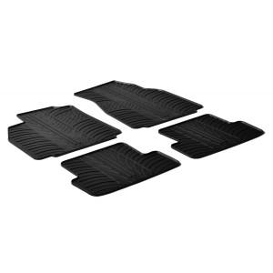 Rubber mats for Renault Megane II