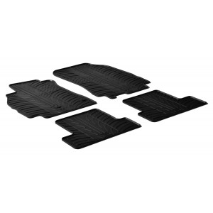 Rubber mats for Renault Megane III HB/Coupe