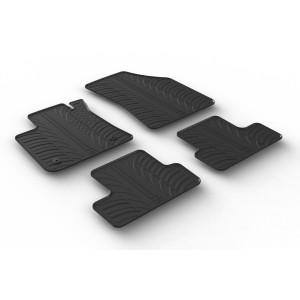 Rubber mats for Renault Koleos