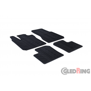 Rubber mats for Renault Twingo