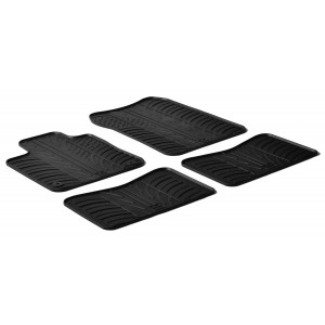Rubber mats for Renault Twingo II