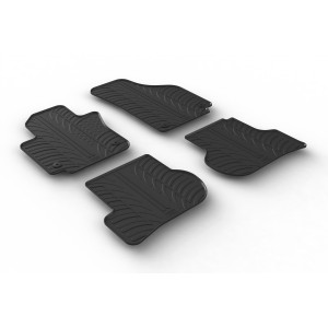 Rubber mats for Seat Altea and Altea XL