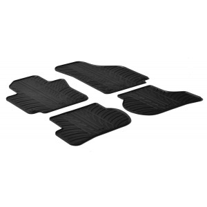 Rubber mats for Seat Toledo 3