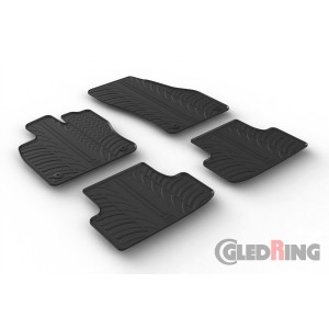 Rubber mats for Seat Ateca