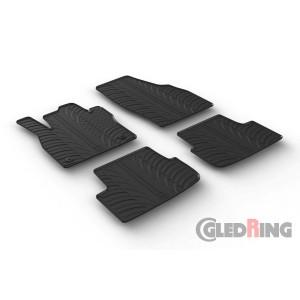 Rubber mats for Seat Ibiza/Arona
