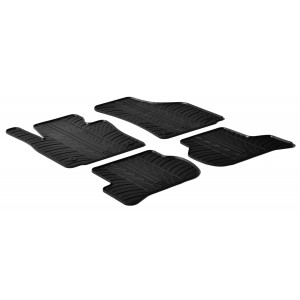 Rubber mats for Seat Leon