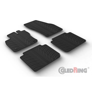 Rubber mats for Seat Tarraco