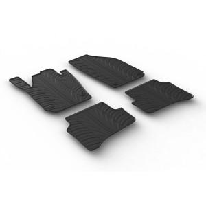 Rubber mats for Skoda Fabia