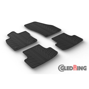 Rubber mats for Skoda Karoq