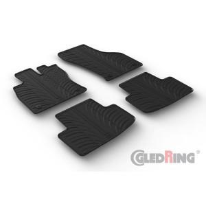 Rubber mats for Skoda Octavia IV (automatic & manual)