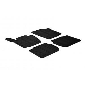 Rubber mats for Skoda Rapid