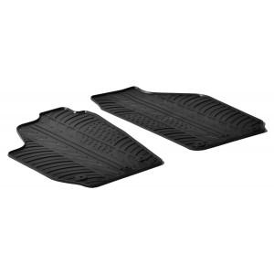Rubber mats for Skoda Roomster Practic Van