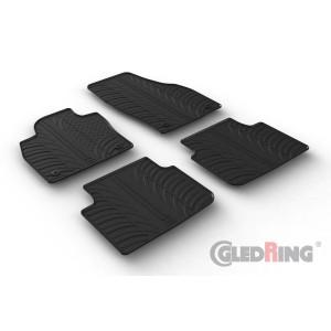 Rubber mats for Skoda SCALA HB