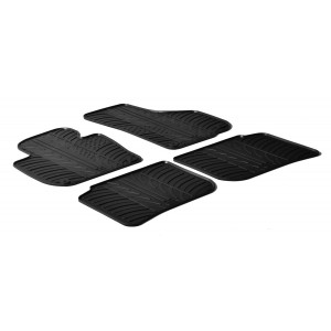 Rubber mats for Skoda Superb